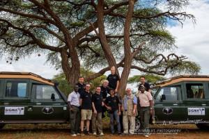 Die Teilnehmer der Fotoreise