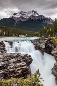 Athabasca Falls - Mt Kerkeslin |Landschaftsfotografie © Robert Sommer