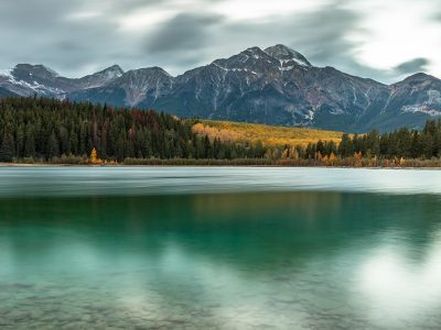 Patricia Lake - Pyramid Mountain |Landschaftsfotografie © Robert Sommer