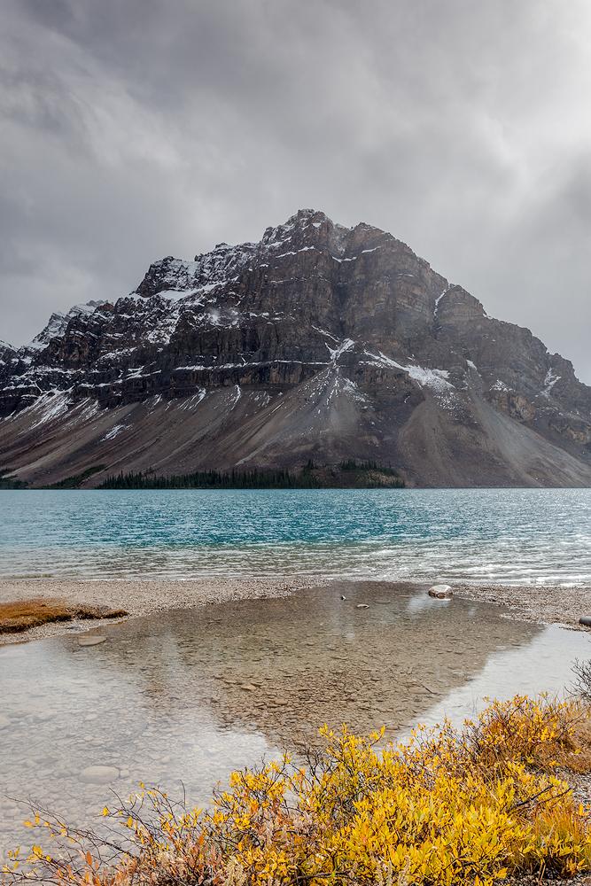 Bow Lake |Landschaftsfotografie © Robert Sommer