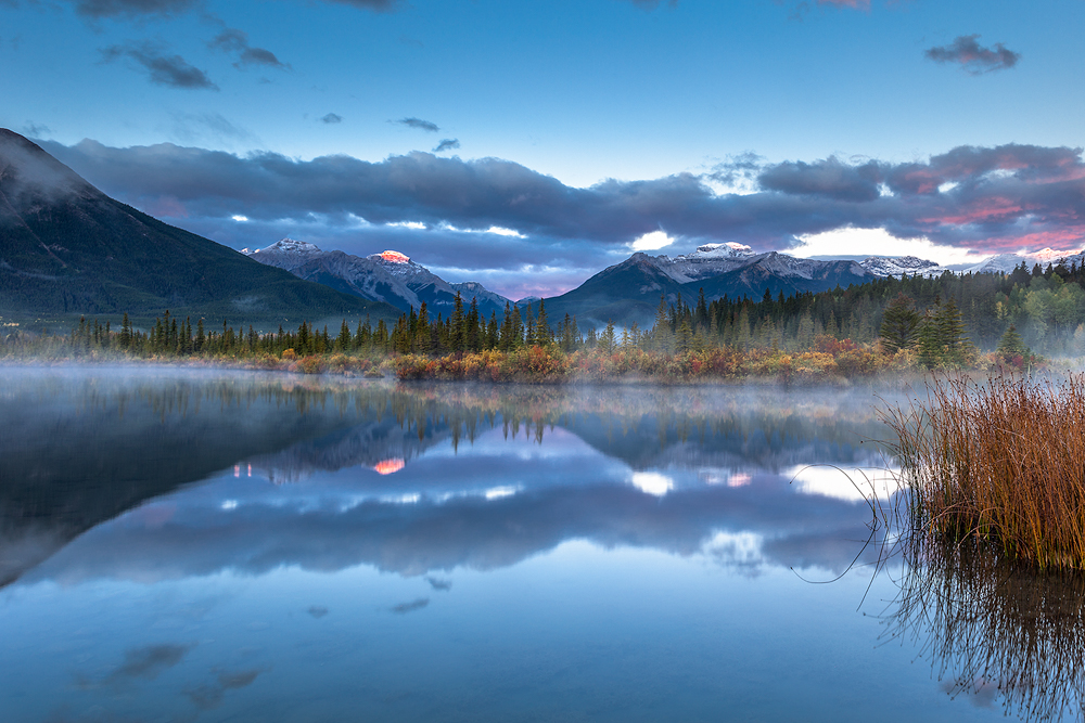 Vermillion Lakes |Sonnenaufgang © Robert Sommer