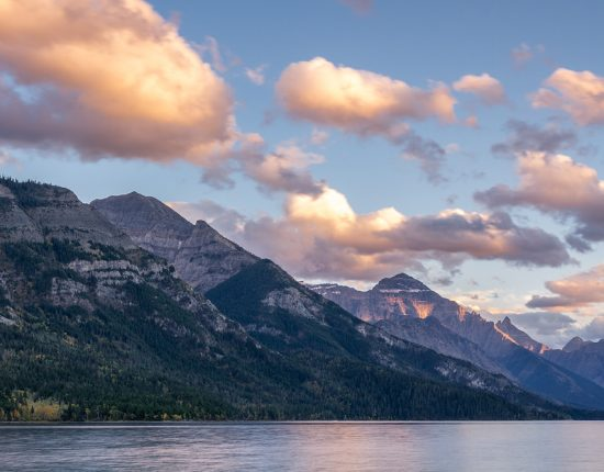 Upper Waterton Lake © Robert Sommer
