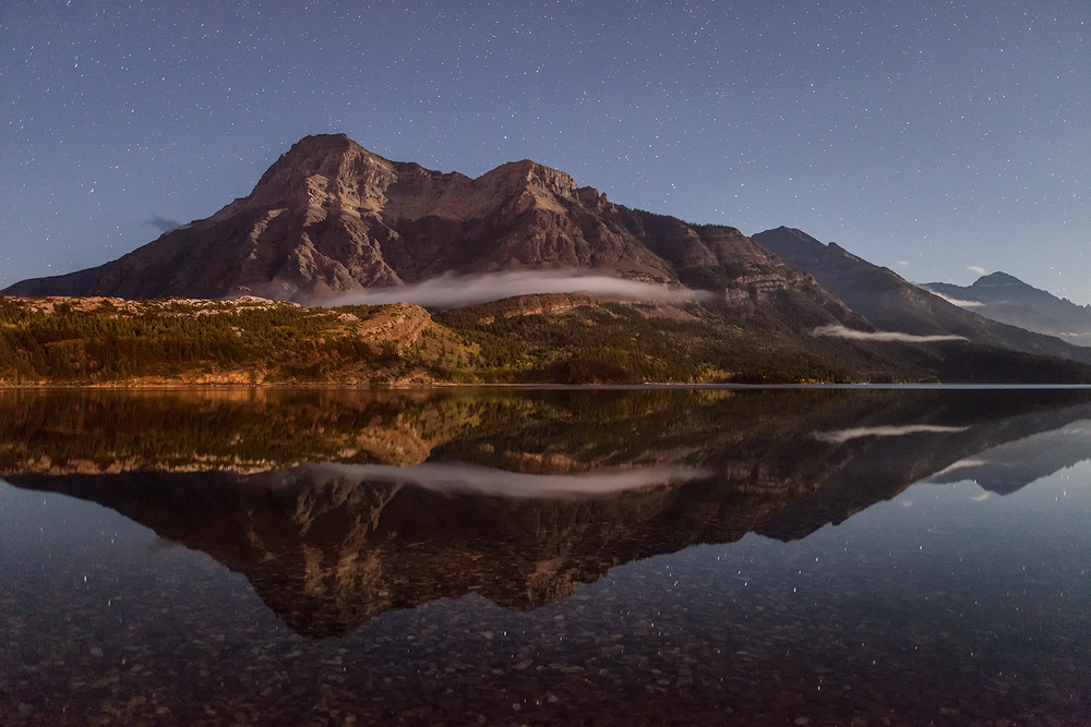 Upper Waterton Lake - Vimy Peak | Astrofotografie © Robert Sommer