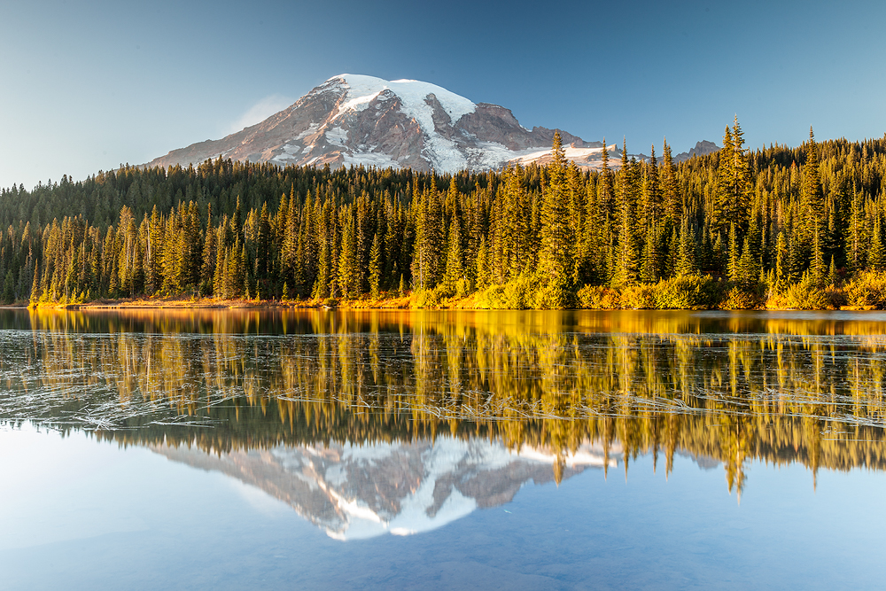 Reflection Lake - Mount Rainier |Landschaftsfotografie © Robert Sommer