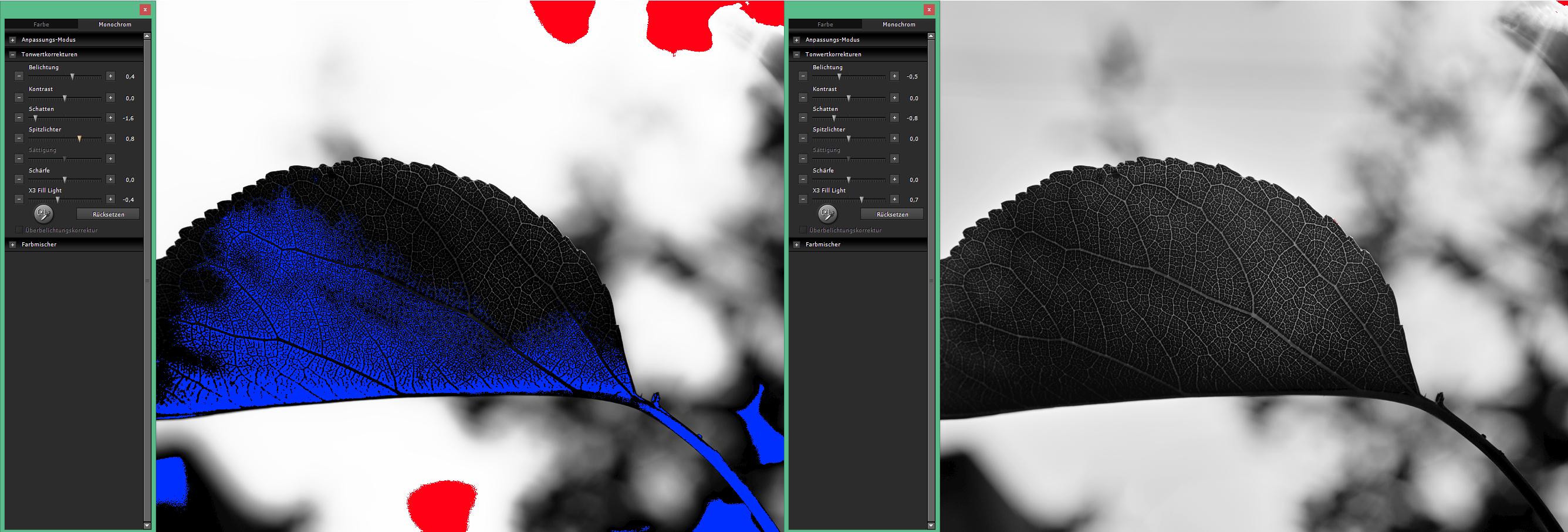 Ein Beispiel der Bildbearbeitung