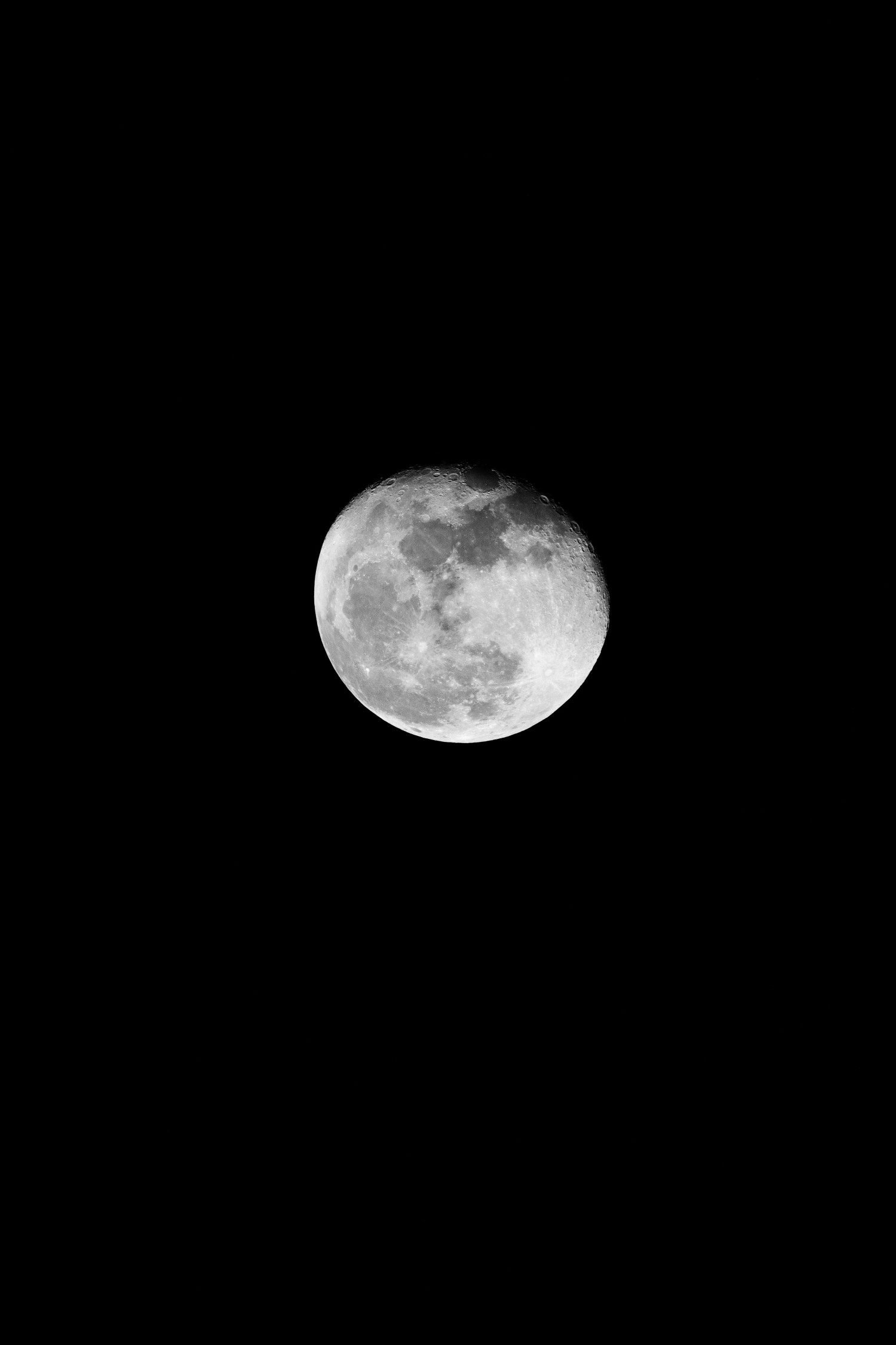 Moonlight Shadow   Schwarzweiß-Fotografie