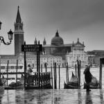 Venedig im Regen | Schwarzweiß-Fotografie