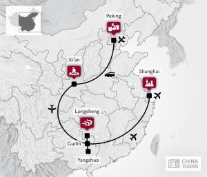 Reiseroute China im Fokus | Dietmar Baum Fotoreise powered by SIGMA