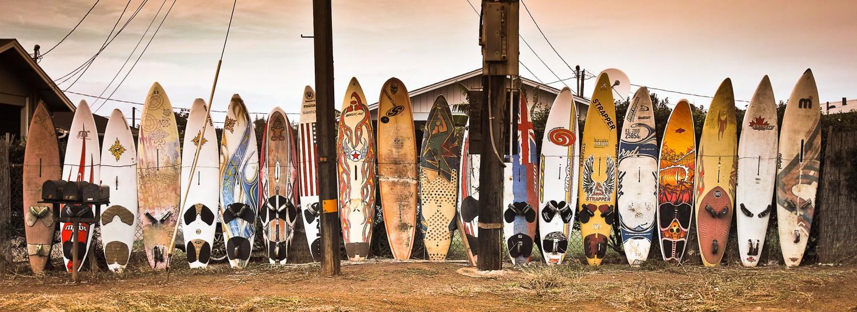 Surfbretter auf Hawaii | 10 Tipps für entspanntes Fotografieren auf Reisen