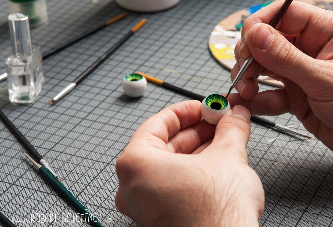 Entstehung einer Stop-Motion-Animation | Schritt 2: Bau der Puppen © Robert Scheffner