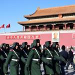 Reise nach Henan / China - Ankunft in Peking - Tian'Anmen Platz