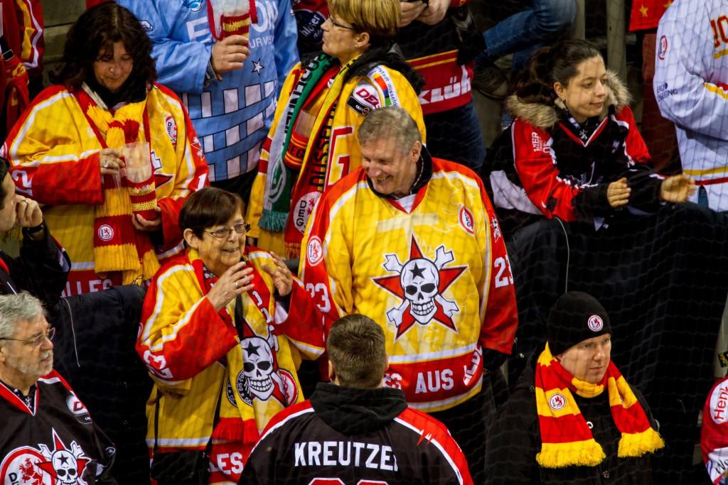 Bilder von Fans prägen die Vereinskultur und sind gern gesehen.