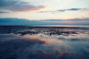 Blauer Sonnenuntergang | Die blaue Stunde