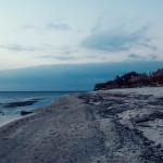 Strand im Dämmerlicht | Die blaue Stunde