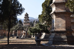Shaolin Tempel am Shaoshi Shan bei Dengfeng