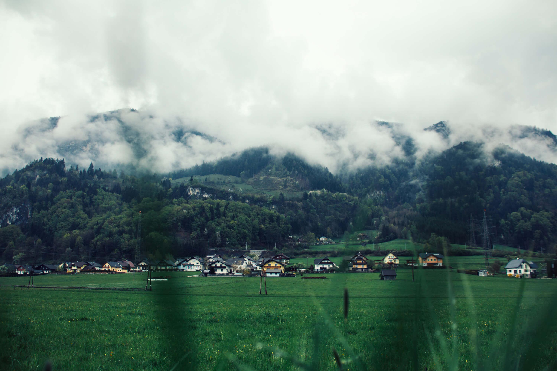 Berglandschaft im Nebel | Landschaftsfotografie