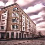 Belsenpark - Stadtarchitektur Langzeitbelichtung