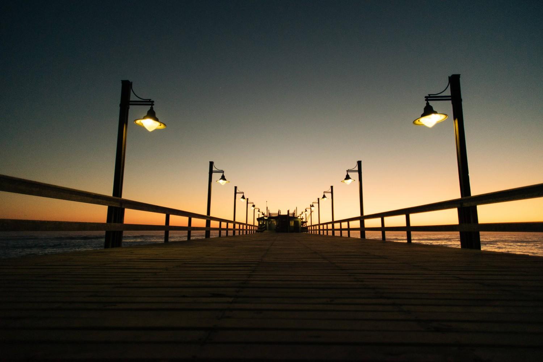 Wenn die Sonne der Nacht Platz macht | Fotografieren bei Nacht