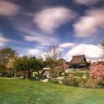 EKŌ-Haus der Japanischen Kultur in Düsseldorf - Langzeitbelichtung mit Neutraldichte- & Verlaufsfilter