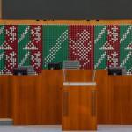 Landtag NRW - Landeswappen Nordrhein-Westfalen – von Ferdinand Kriwet