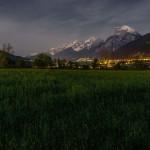 Nächtliche Berglandschaft | Fotografieren bei Nacht