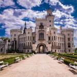 Schloss Frauenberg im Sonnenschein ohne Touristen - Langzeitbelichtung