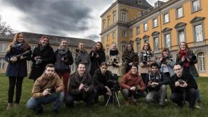 Studenten des Fotoworkshop der Uni Bonn