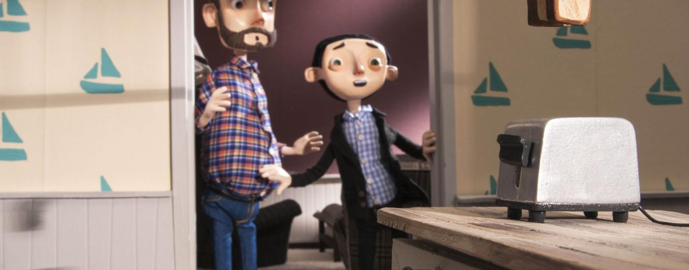 Stop-Motion-Animation für ein E-Book | Illustration für