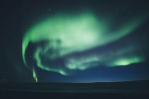 Aurora borealis - der Himmel brennt