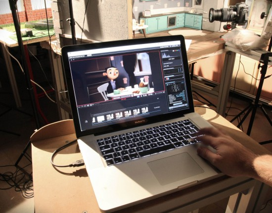 Shooting einer Stop-Motion-Animation | Animation des Films