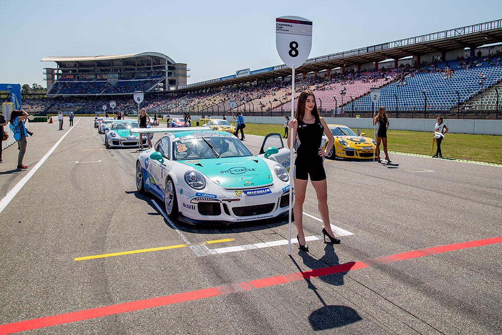 SIGMA meets Porsche Carrera Cup