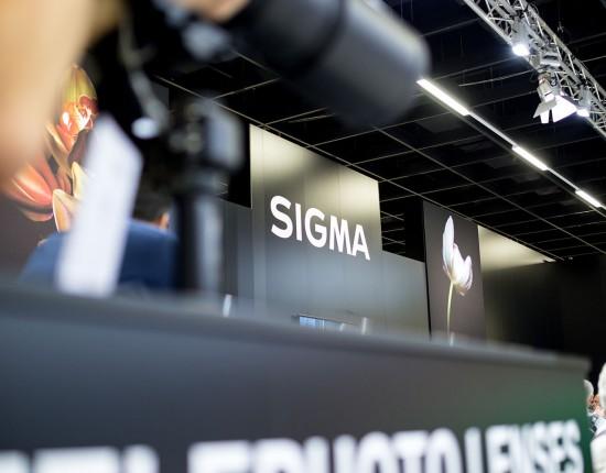 SIGMA Messestand auf der Photokina 2016