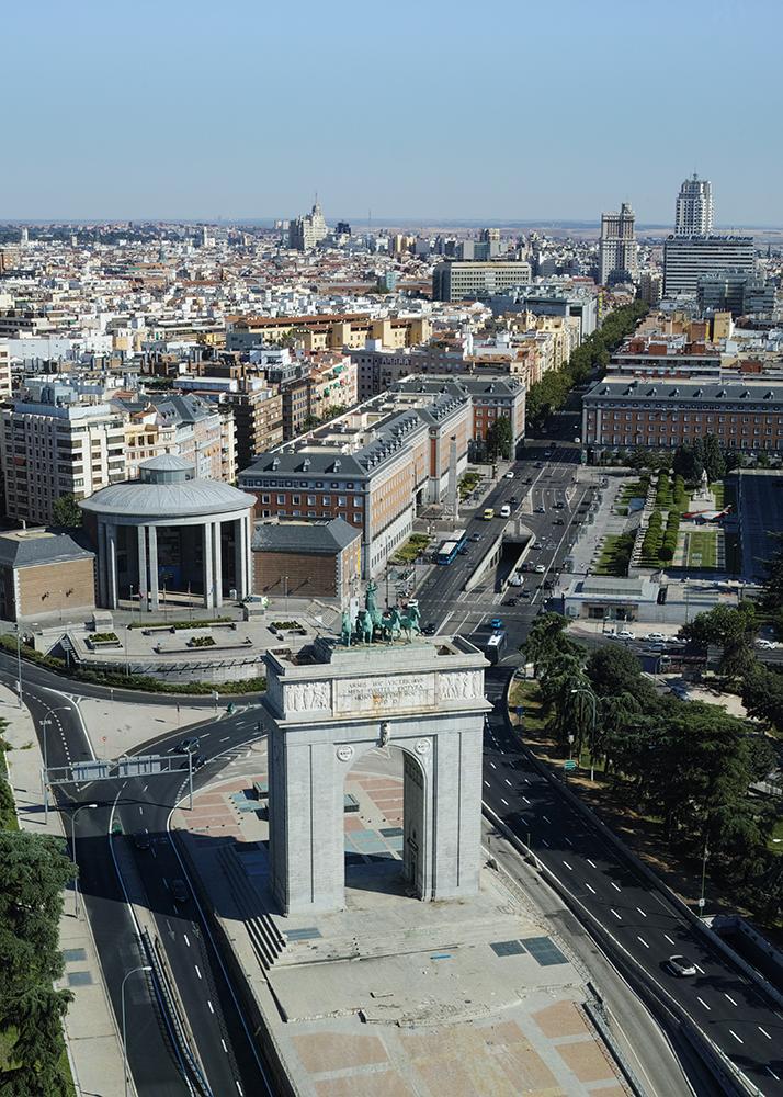 Blick über die spanische Haupstadt © Andreas Lier