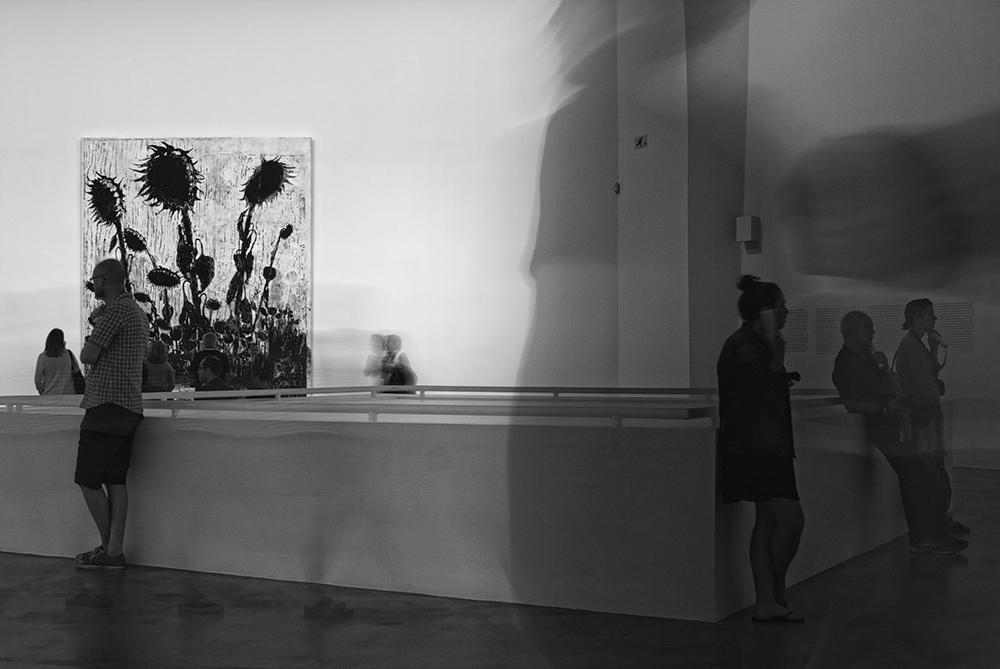 Guggenheim Museum - Sonnenblumen @ Andreas Lier