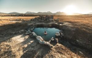Heiße Quellen in Mammoth © Max Muench
