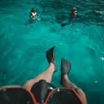 Schnorcheln im türkis blauem Wasser © Max Muench
