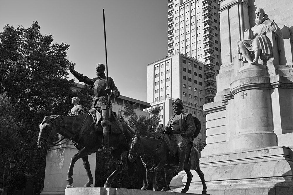 Cervantes Monument @ Andreas Lier