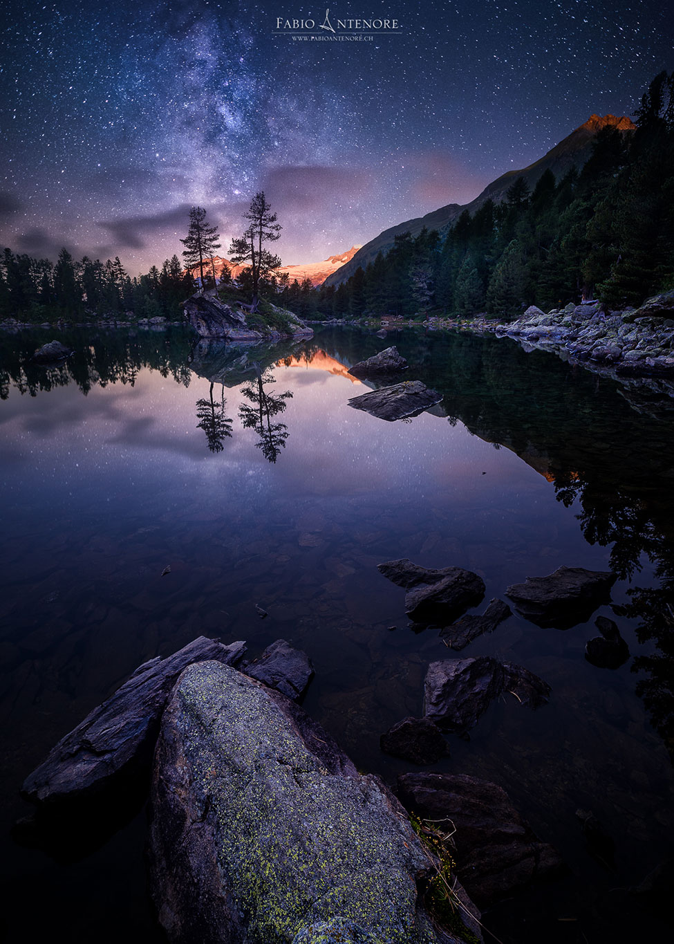 Night in the Mirror © Fabio Antenore