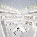 Architektur - Library, Stuttgart © Maik Lipp