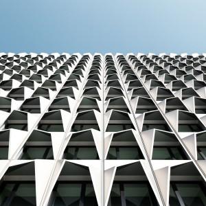 Architektur - h_da-Hochhaus, Darmstadt © Maik Lipp