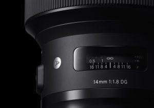 Produktneuheiten CP+ 2017 - SIGMA 14mm F1,8 DG HSM | Art
