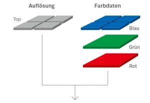 Foveon X3®-Direktbildsensor