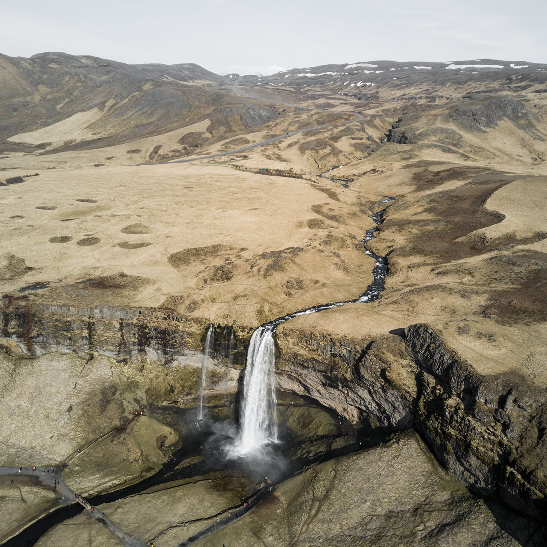 Island - Seljalandsfoss © Maik Lipp