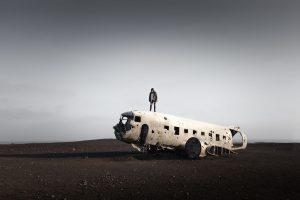 Island - Plane wreck DC-3 © Maik Lipp