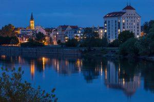 Wohnen an der Elbe © Klaus Degen