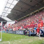 SIGMA Bandenwerbung während des Spiel gegen Hannover 96