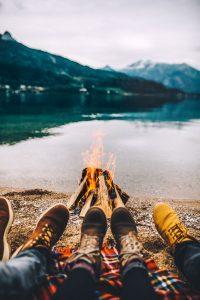 Lagerfeuer © Alina Schessler