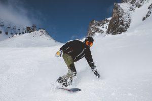 Snowboarden im Gasteiner Tal © Maike Descher