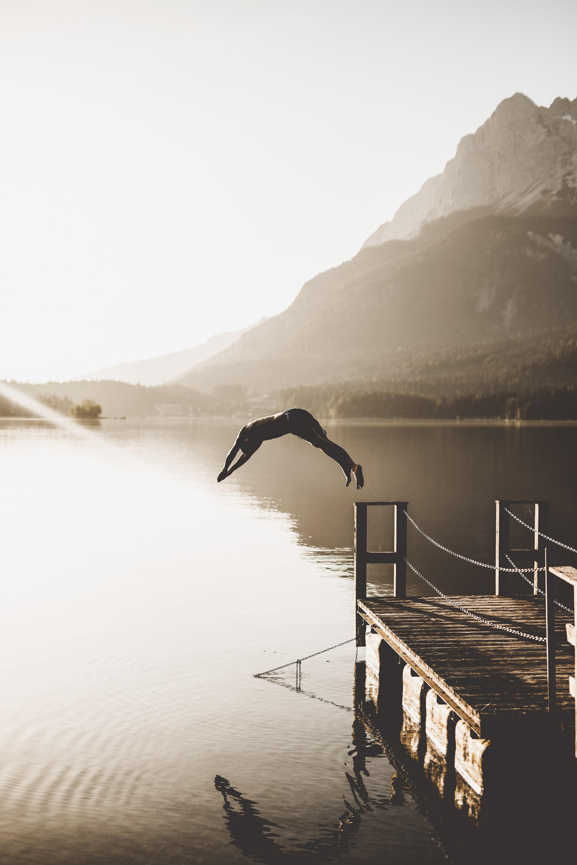 Ein Sommermorgen am Eibsee © Maike Descher