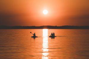 Die Magie von Sonnenaufgängen und Sonnenuntergängen © Maike Descher